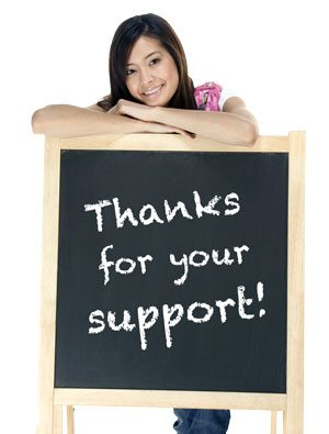 Thanks-Support