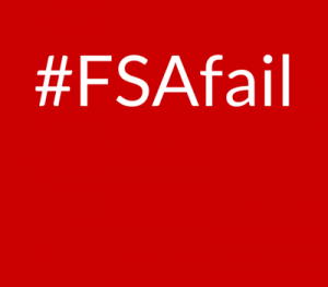#FSAfail