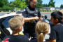 police with children