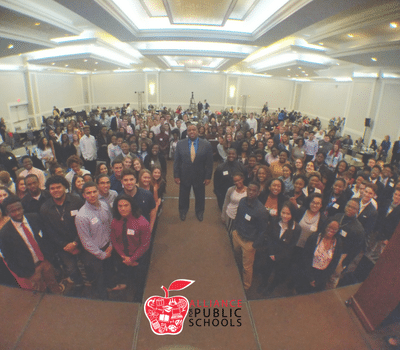 gradnation 2018 group selfie