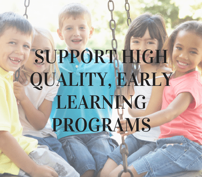 TAKE ACTION FOR EARLY LEARNING