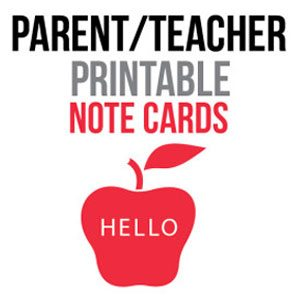Parent-Note-Cards
