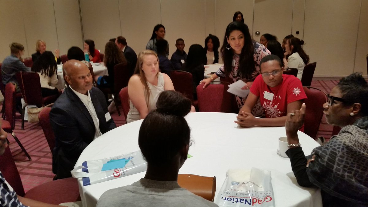 Students and adults collaborated to increase graduation rates for the region