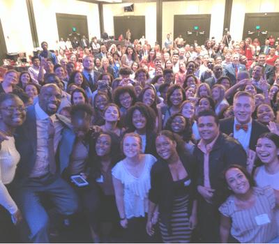 annual Grad Day selfie