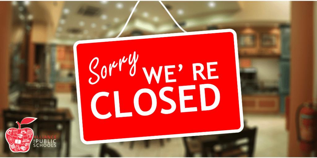 FDOE closes campuses