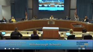 HCPS board meeting