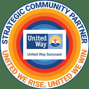 United Way Suncoast community Partner seal